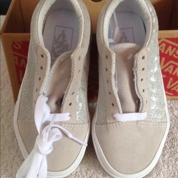 297bd9726ba6 Vans kids Old Skool metallic snake shoes NIB